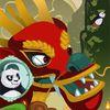 панда - Кунг Фу панда на пробежке