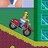симпсоны - Вот и Гомер на мотоцикле!