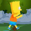 симпсоны - Барт Симпсон на озере