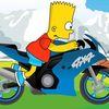 симпсоны - Барт супер гонщик