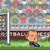 футбол - Большой футбол на людном стадионе
