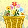 цветы - Цветы в корзине
