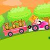для малышей - Транспортировка игрушек в грузовике