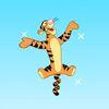дисней - Тигра прыгает по облачкам