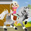 про лошадей - Маленькая наездница