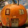 найди отличия - Удобный домик из тыквы