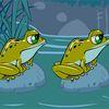 лягушка - Поменяй местами лягушек