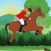 человек паук - Скачки на лошадке