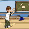 баскетбол - Бен 10 на баскетбольной тренировке