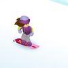 барби - Барби на сноуборде