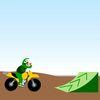 На мотоциклах - Большая гонка для малыша