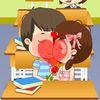 поцелуи - Поцелуй в классной комнате