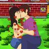 поцелуи - Поцелуй на ферме