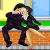 поцелуи - Поцелуй на завалинке