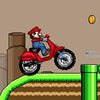 марио - Марио на мотоцикле в горной местности