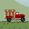 грузовики - Красный грузовик