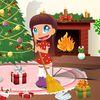 новый год - Уборка для Санты